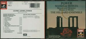 Leonel-Power-Masses-amp-Motets-Hilliard-Ensemble-EMI-Switzerland-CD-HL8-84