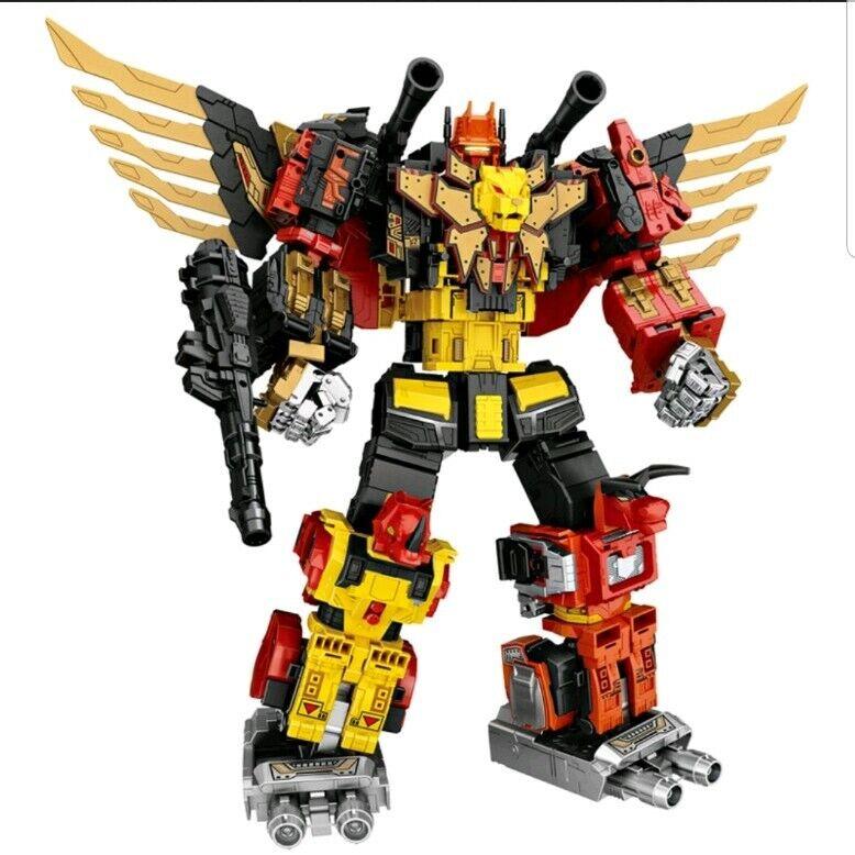 nouveau  Transformers  WeiJiang combiner Sky Soarer aka POTP Prougeaking Full set UK  haute qualité