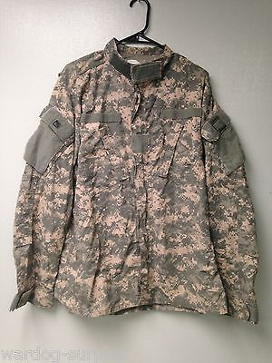 US ARMY ACU Digital Camo Flame Resistant Insect Guard Large - Long Uniform BDU