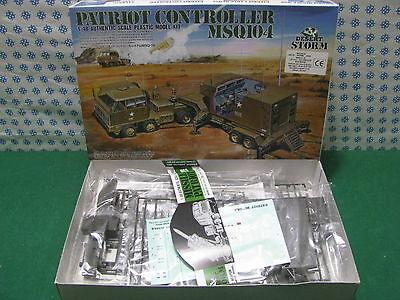 Avere Una Mente Inquisitrice Vintage Model Kit- Patriot Controller Msq 104 Desert Storm 1/48 Arii A683 Piacevole Al Palato