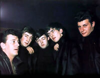 The Beatles With Gene Vincent Photo Print 8.5 X 11