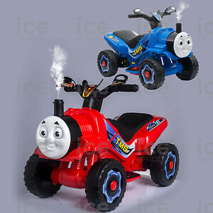 KIDS-NEW-THOMAS-TRAIN-STYLE-MOTORBIKE-RIDE-6V-BATTERY-CAR-BIKE