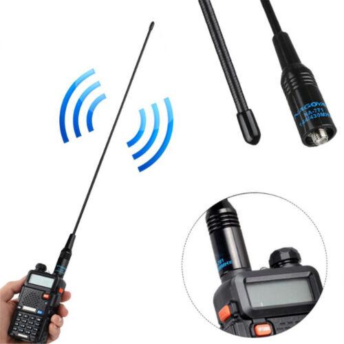 NA-771 SMA-F Dual Band High Gain Radio Antenna For BaoFeng UV-5R Kenwood Pip GY
