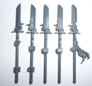 Alerte Grey Knights Paladin/terminator Squad Hallebardes X 5 – G1204-ator Squad Halberds X 5 – G1204 Fr-fr Afficher Le Titre D'origine