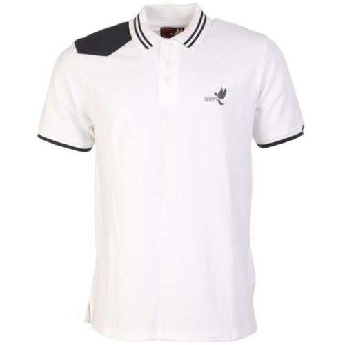 Missing Peace Lennon Polo Designer polo t shirt top brand new quality RRP £30