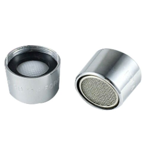2x Water Saving Faucet Tap Spout Aerator Nozzle 19mm Female Thread Dia Silver SS