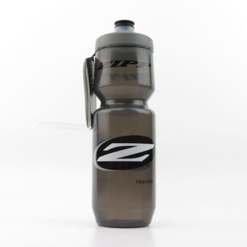 """770ml 26oz ZIPP /""""Z/"""" Logo BPA-Free Black Bike Bicycle Cycling Water Bottle"""