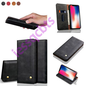 For-Sony-Xperia-10-Plus-1-L3-XZ-XZS-Slim-Magnetic-Leather-Wallet-Flip-Cover-Case
