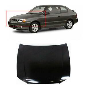 hood panel for 2000 2002 hyundai accent hatchback 2 door sedan 4 door 6640025320 ebay ebay