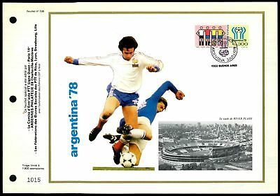 Z2499 To Make One Feel At Ease And Energetic Only 1900 Made! Rare! Frugal Argentina Cef 1978 Fußball-wm Football Soccer Ltd