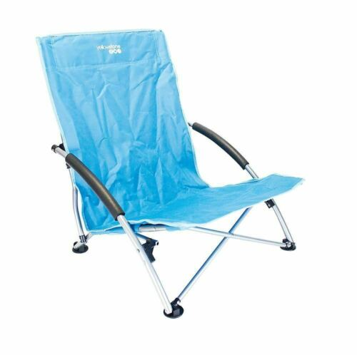 Blue Yellowstone Low Profile Folding Chair