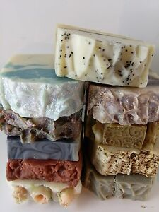 Image is loading Natural-soap-U-pick-Any-5-Soap-Bars-