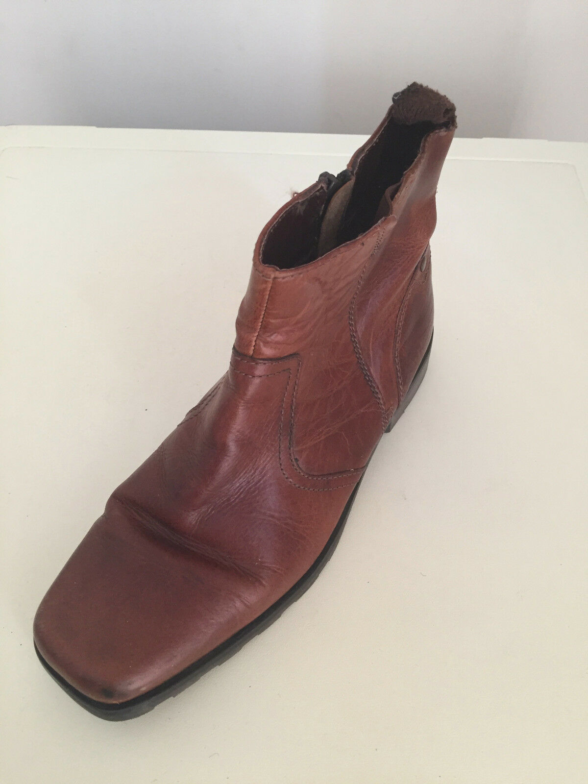 Mens Leather Next Ankle Boots Size 8