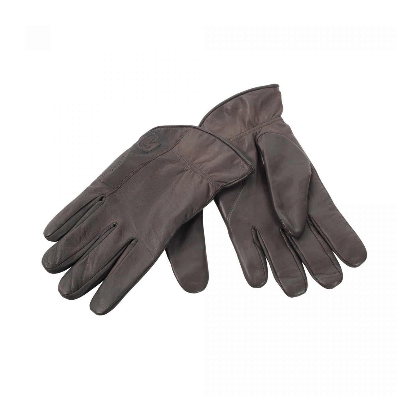 Deerhunter 8339  Leder Winter-Handschuhe Jagd  551 - DH Brown, Größe XL