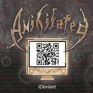 Anihilated-ideviant-CD-thrash-metal-UK-Inghilterra-NUOVO-NEW-OVP