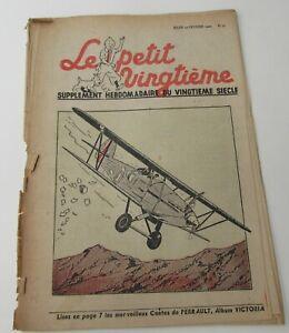TINTIN-HERGE-LE-PETIT-VINGTIEME-NO-7-1940-CORRECT