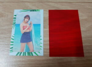 Twice 2nd Special Album Summer Night Mina G Photo Card official