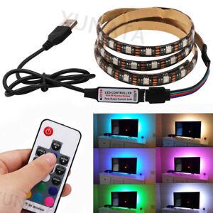 5m-1m-5V-5050-RGB-LED-Strip-Light-Colour-Changing-USB-TV-PC-Back-Mood-Lighting