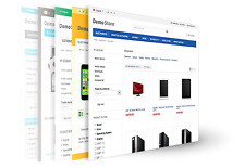 Shopping Cart Website shop multi store responsive design seo blog site 2017 new