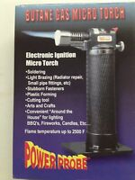 Power Probe Butane Gas Micro Torch