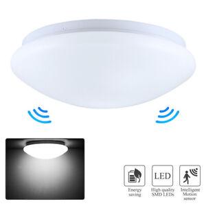 Aussen-Deckenlampe-LED-Sensor-Decken-Leuchte-12W-Bewegungsmelder-IP44-Bad-Lampen