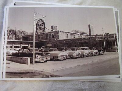 1950 'S CADILLAC DEALERS USED CAR LOT USED CADILLACS 11 X ...