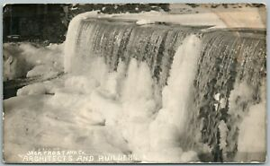 JACK-FROST-ARCHITECTS-amp-BULDERS-ADVERTISING-REAL-PHOTO-POSTCARD-RPPC-ANTIQUE
