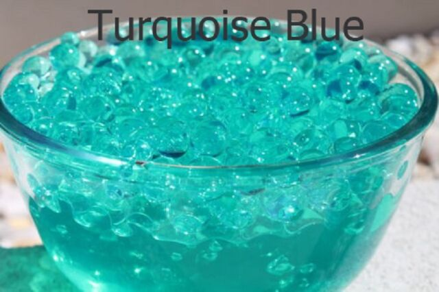 10 Bag Turquoise Blue Orbeeze Water Beads Crystal Soil Jelly Ball Wedding Party