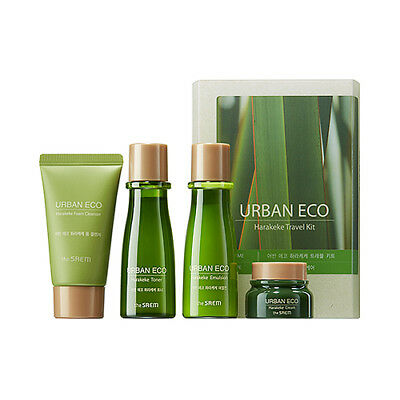 [THESAEM] Urban Eco Harakeke Travel Kit - 1pack (4item)