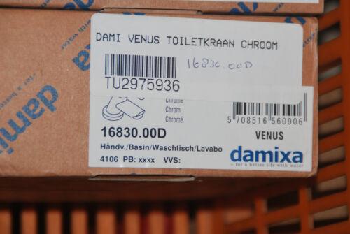 DAMIXA 16830.00D 16830 WT ARMATUR MISCHBATTERIE WASSERHAHN VENUS CHROM NEU