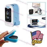 US Sale OLED Finger oxymeter spo2,PR monitor Blood Oxygen Pulse oximeter CMS50N