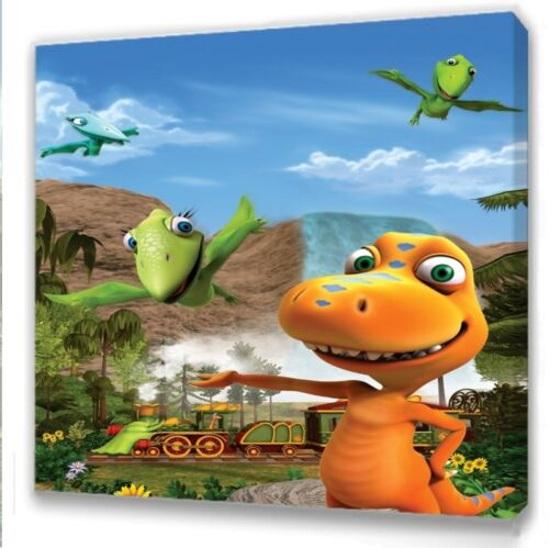 Dinosaur Train  Kids bedroom canvas picture