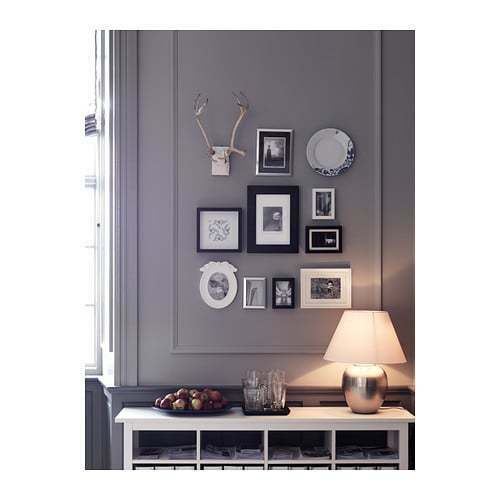 IKEA Ribba Black Picture Frame Picture Size 23x23cm 12x12cm