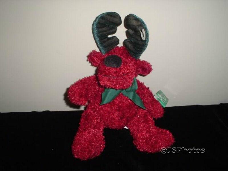 Russ Berrie Twinkle Reindeer Plush 101494 Tags Handmade