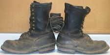 Men's Used Logger Work Boots - 10 EE  - Unlined - No Steel Toes - Maybe MADSENS?