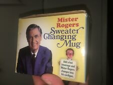 Mr Rogers Coffee Mug 3619 Heat Activated Cardigan Sweater Changing Very Good For Sale Online