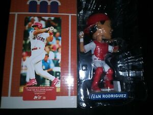 Ivan-Pudge-Rodriguez-Rangers-2019-SGA-039-95-All-Star-Game-Bobblehead-NEW-IN-BOX