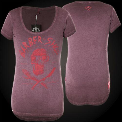 YAKUZA PREMIUM Damen T-Shirt GS-2338 Weinrot