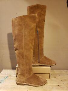7560322c9c9 UGG Australia LOMA Over The Knee Chestnut Women s Boots Size 6US
