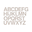 Adhesive Alphabet Vinyl Letters Stickers Indoor and Outdoor Bin Wall Window Car