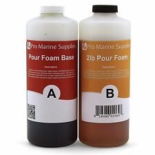 Pour Foam 2 LB Density - Liquid Urethane Insulation Marine Grade - 2 Quart Kit