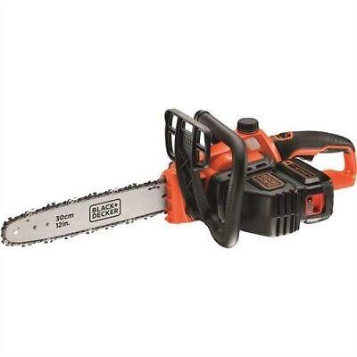 Black+Decker Li-Ion Akku-Kettensäge Elektro Motorsäge 36V 30 cm Schwert Säge