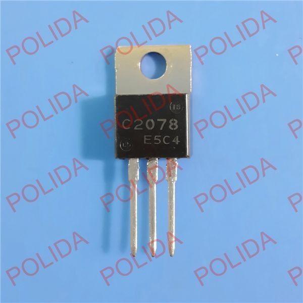 1PCS RF/VHF/UHF Transistor SANYO TO-220 2SC2078 C2078 100% Genuine and New