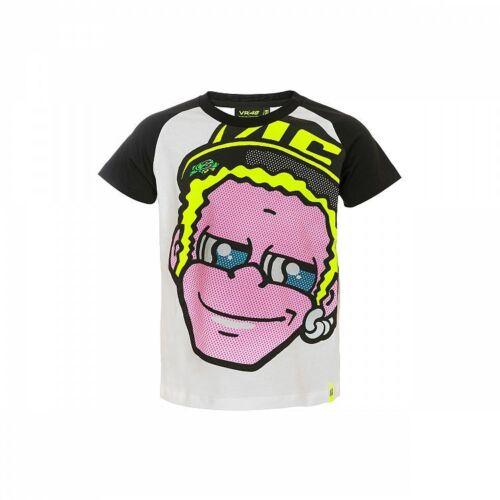 YDKTS 308406 VR46 Official Valentino Rossi Kid/'s Dottorino T shirt