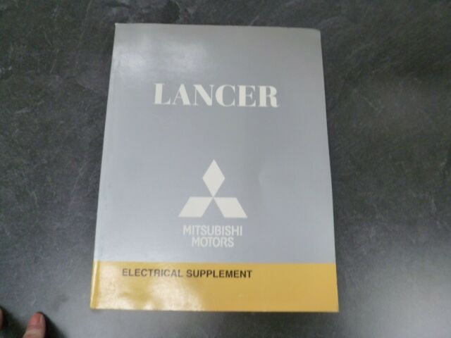 2010 Mitsubishi Lancer Electrical Wiring Diagrams Manual