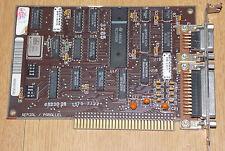 Retro Computer IBM 5170 1985 Original Serial / Parallel Card Karte RS232 Seriell