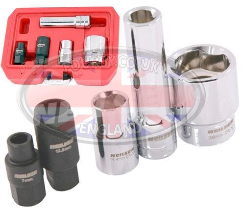 LAND Rover 200 /& 300 TDI Bosch Ve Pompa Iniezione specialista Presa Strumento Set