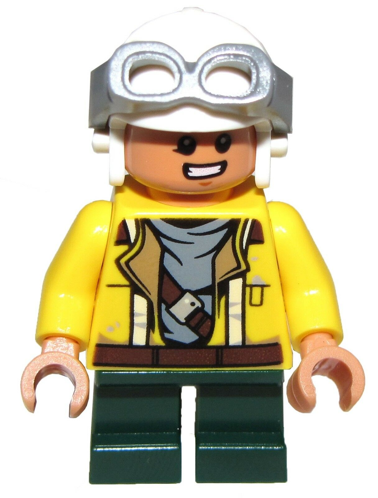 Lego Nouveau Rowan Casque et Lunettes Mini Figurine D'Ensemble 75147 | Soyez Bienvenus En Cours D'utilisation