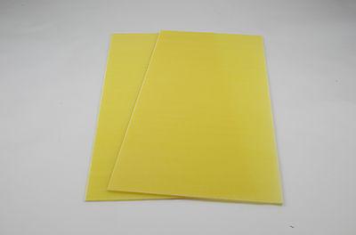2 Stk. FR4 GFK / Epoxy - Platte 1,6 mm (350 x 150 mm) 2. Wahl