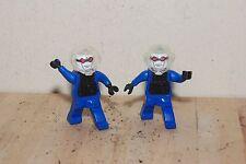 2 LEGO Mr. Freeze Action Figure Batman 2008 DC Comics Universe MCDONALDS Mister